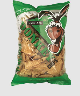 Unsalted Donkey Chips information
